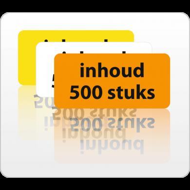 Inhoud 500 stuks rol 500 St.