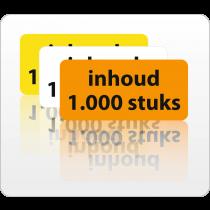 Inhoud 1000 stuks rol 500 St.