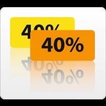 40% rol 500 St.